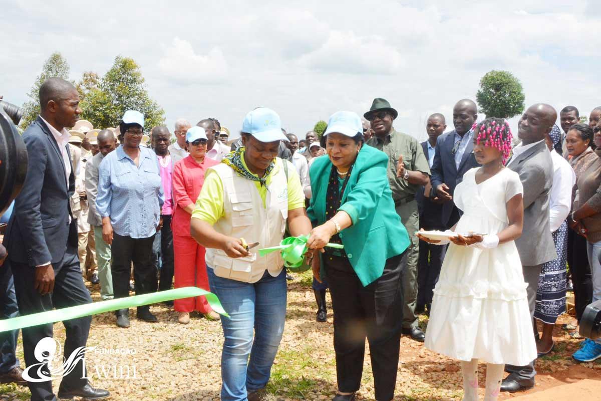 Inauguração Do Centro Agroecológico Da Chipipa Na Província Do Huambo