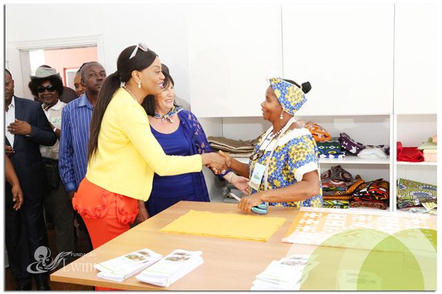 Inauguração Do Atelier De Costura Solidaria Na Província Do Bengo e Doação de Meios